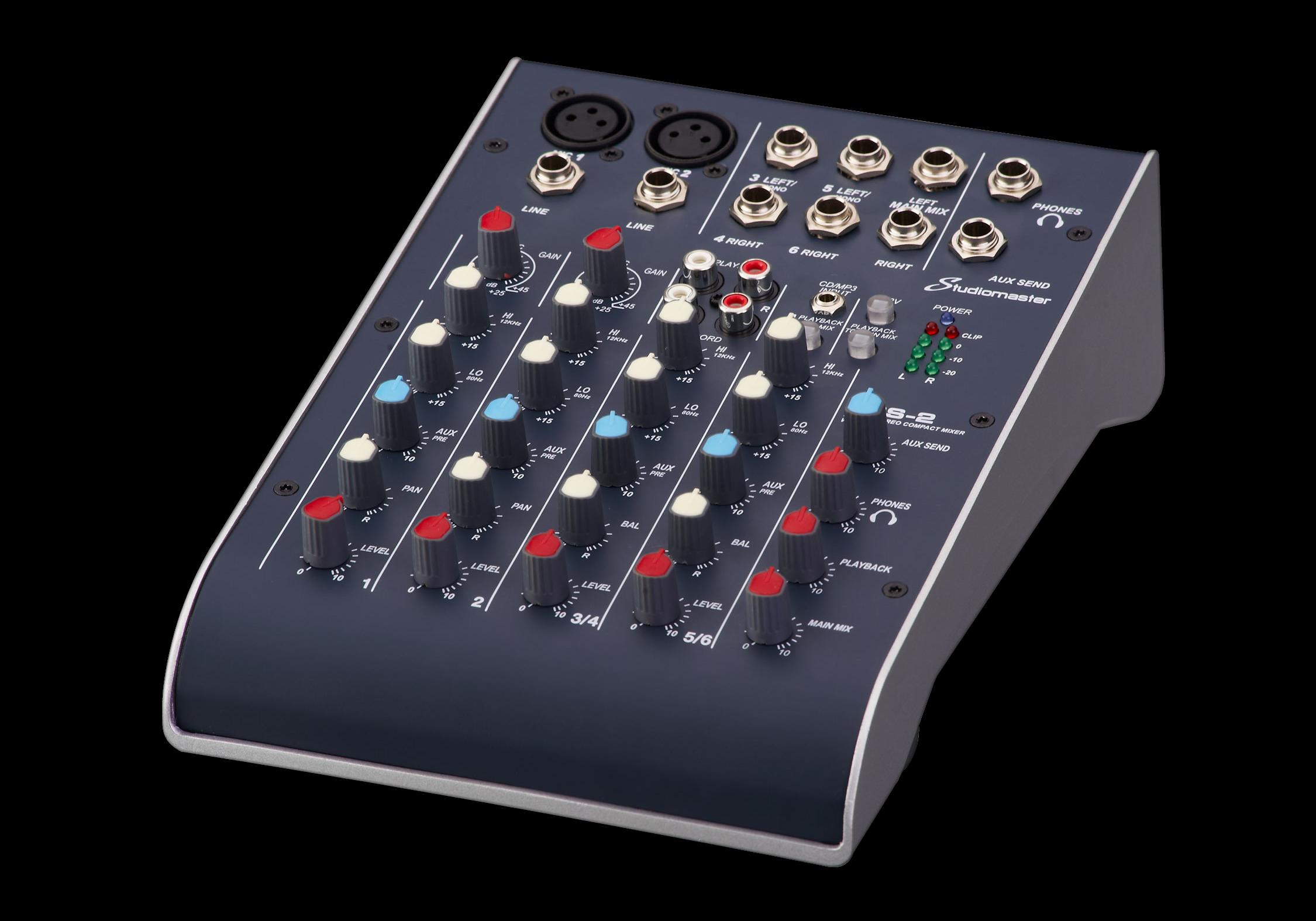 Studiomaster C2-2 C2S-2 mixer