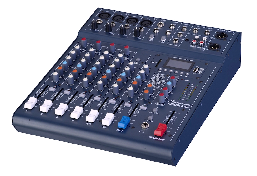 Studiomaster Club XS 8 mixing console