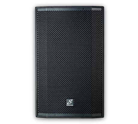 Front photo of Studiomaster Venture 15 15A speaker cabinet