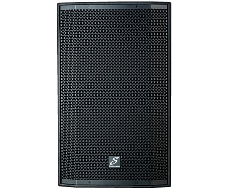 Studiomaster Venture 15 15A speaker cabinet front photo
