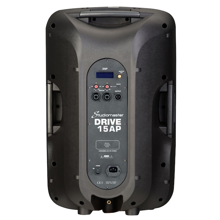 Studiomaster Drive 15AP rear