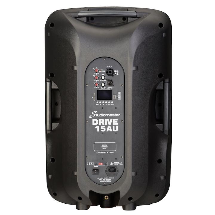 Studiomaster Drive 15AU speaker cabinet rear