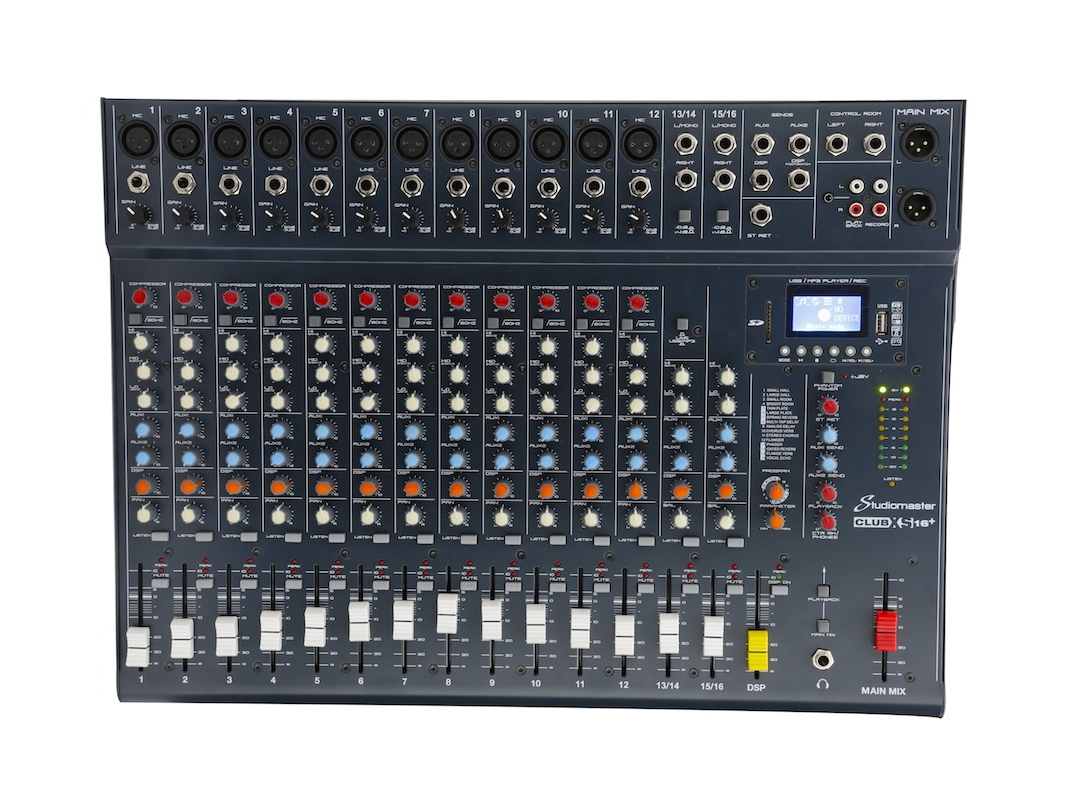 Studiomaster Club16+ front
