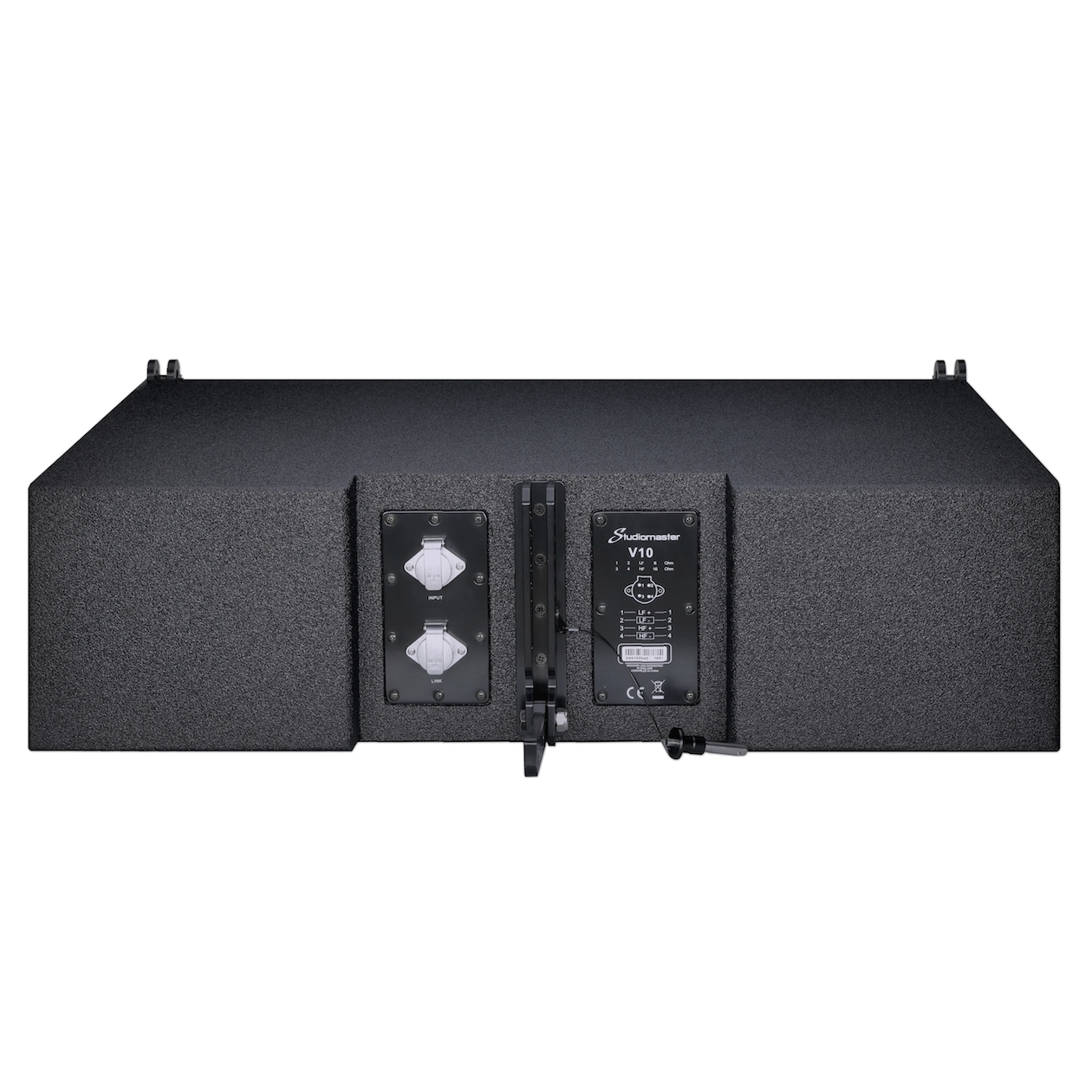Studiomaster V10 line array rear view