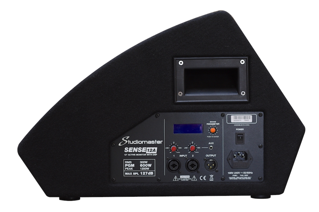 Studiomaster Sense 12A monitor speaker module view