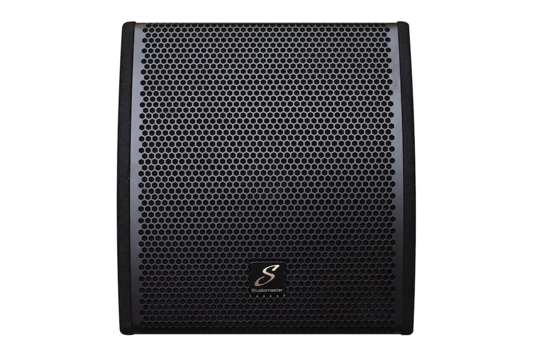 Studiomaster Sense 12A monitor speaker top view