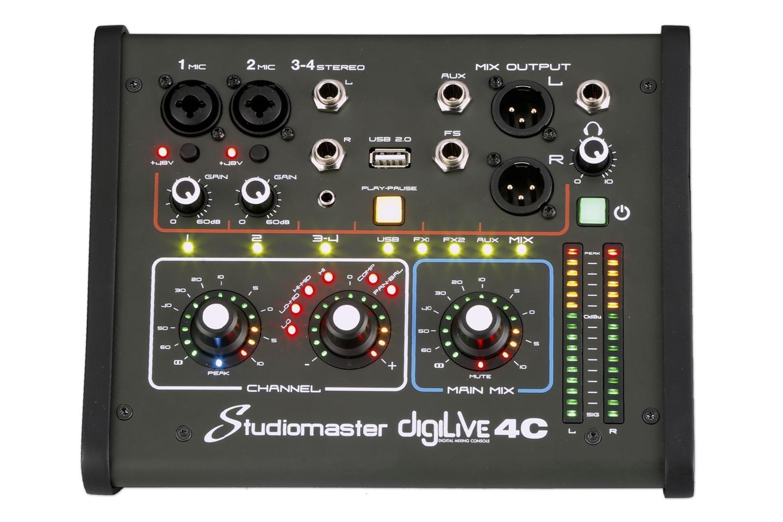Studiomaster Digilive 4C front