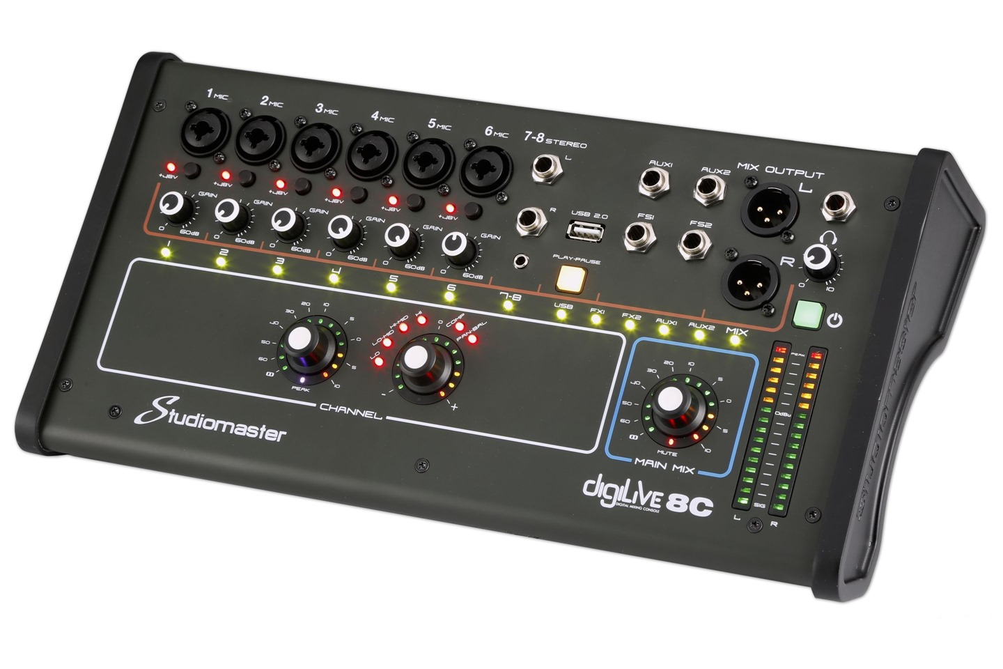 Studiomaster Digilive 8C right