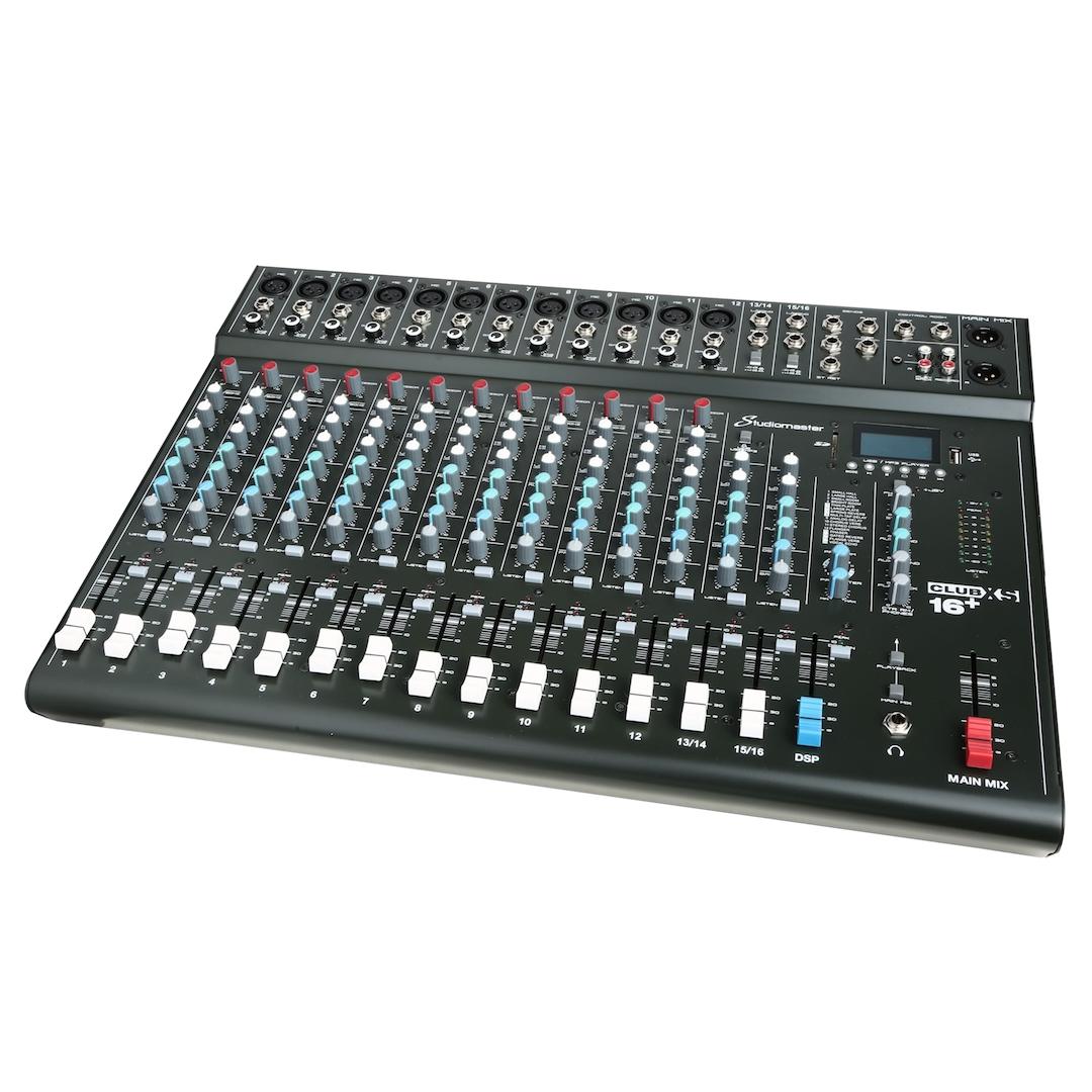 Studiomaster Club XS16+ mixer right