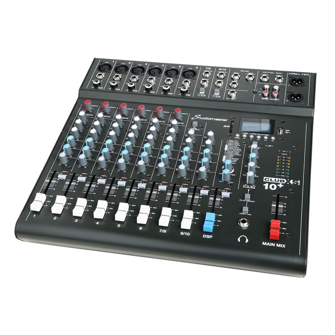 Studiomaster Club xs 10+ mixer right