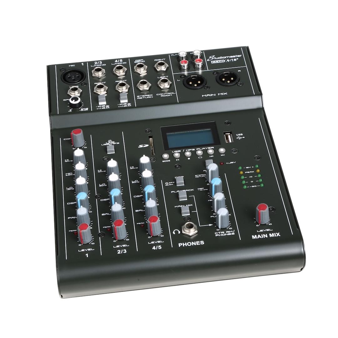 Studiomaster Club xs 5+ mixer left