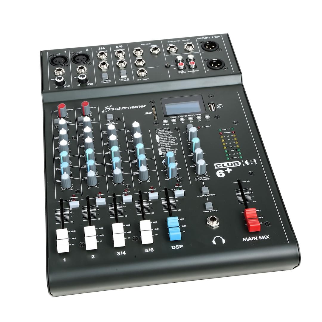 Studiomaster Club xs 6+ mixer left