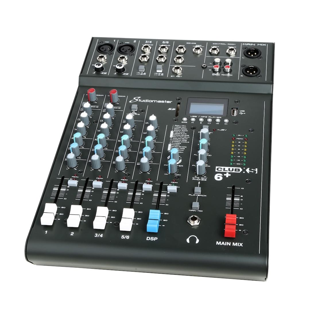 Studiomaster Club xs 6+ mixer right