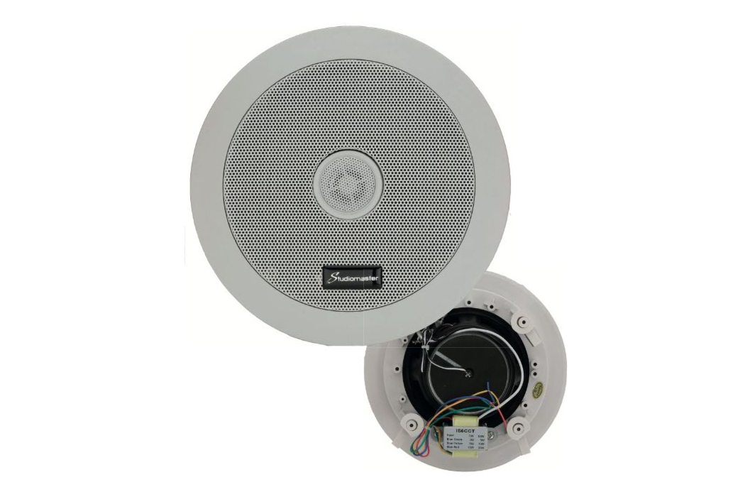 Studiomaster IS6CCT install ceiling speaker