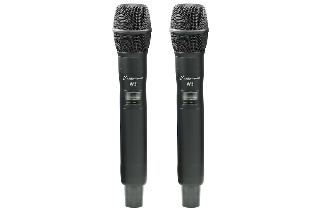 Studiomaster W3 wireless microphone set 4