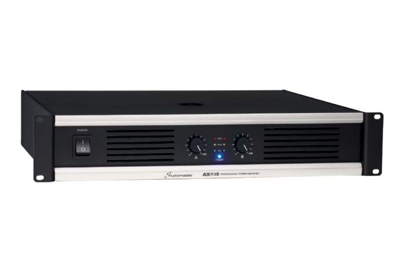 Studiomaster AX series power amplifier right side angle
