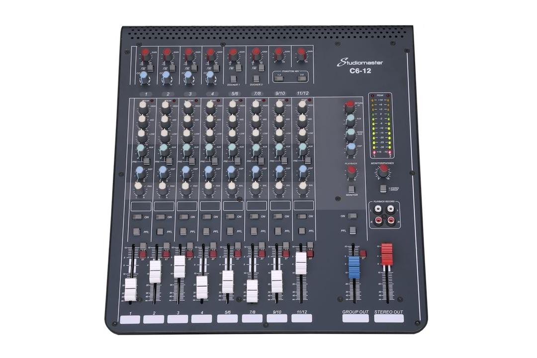Studiomaster C6 12 Front image
