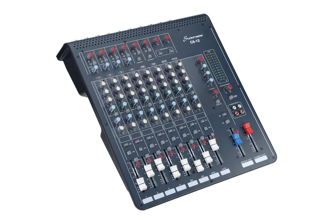 Studiomaster C6 12 Left side