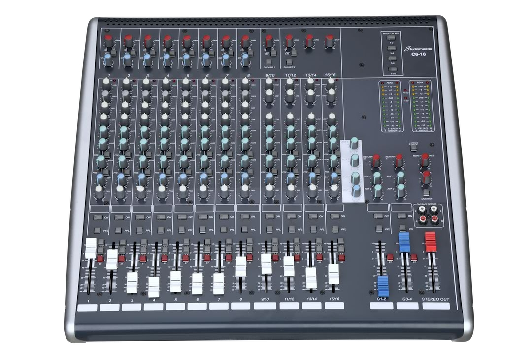 Studiomaster C6 16 Front image
