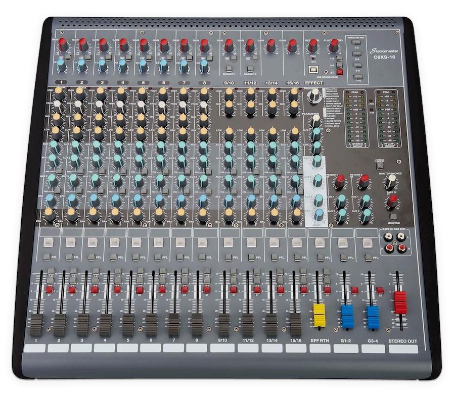 Studiomaster C6XS-16 mixing colsole