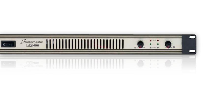 Studiomaster DX power amplifiers