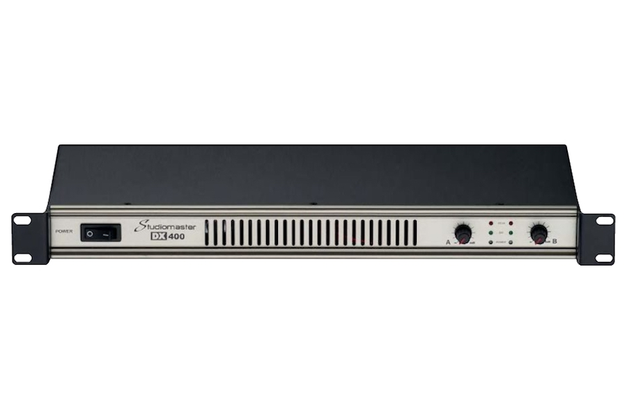 Studiomaster DX series power amplifier front view