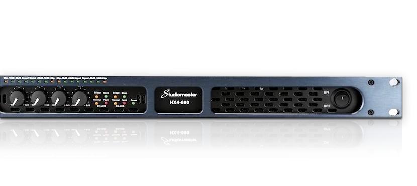 Studiomaster HX power amplifiers