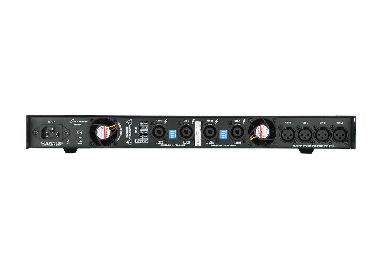 Studiomaster HX Amplifier rear