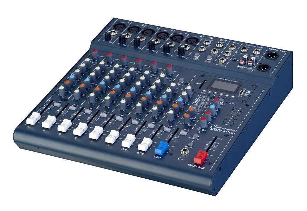 Studiomaster ClubXS 10 mixer console