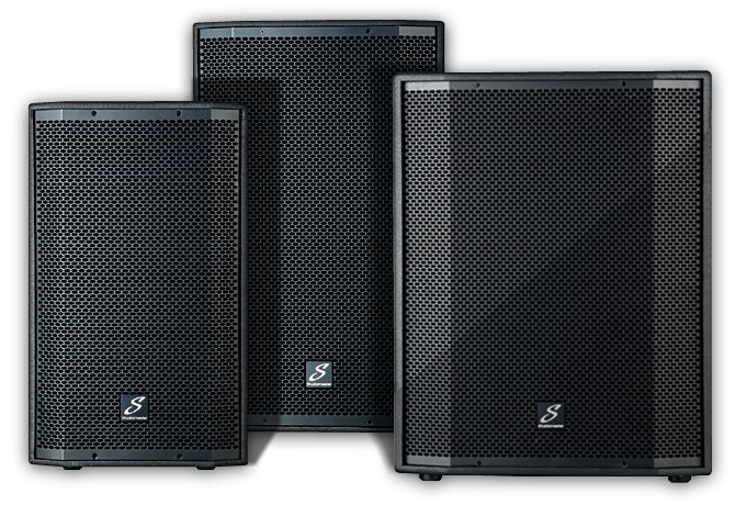 Studiomaster Venture speaker cabinet series