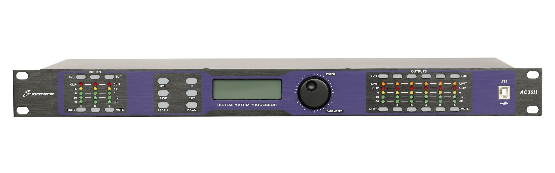 Studiomaster AC36II digital processor front