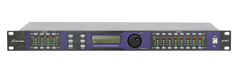 Studiomaster AC48II digital processor front