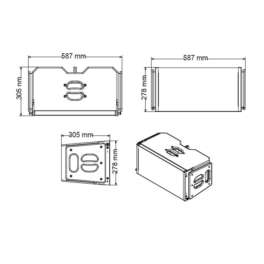 Studiomaster Platform 10 Dimensions