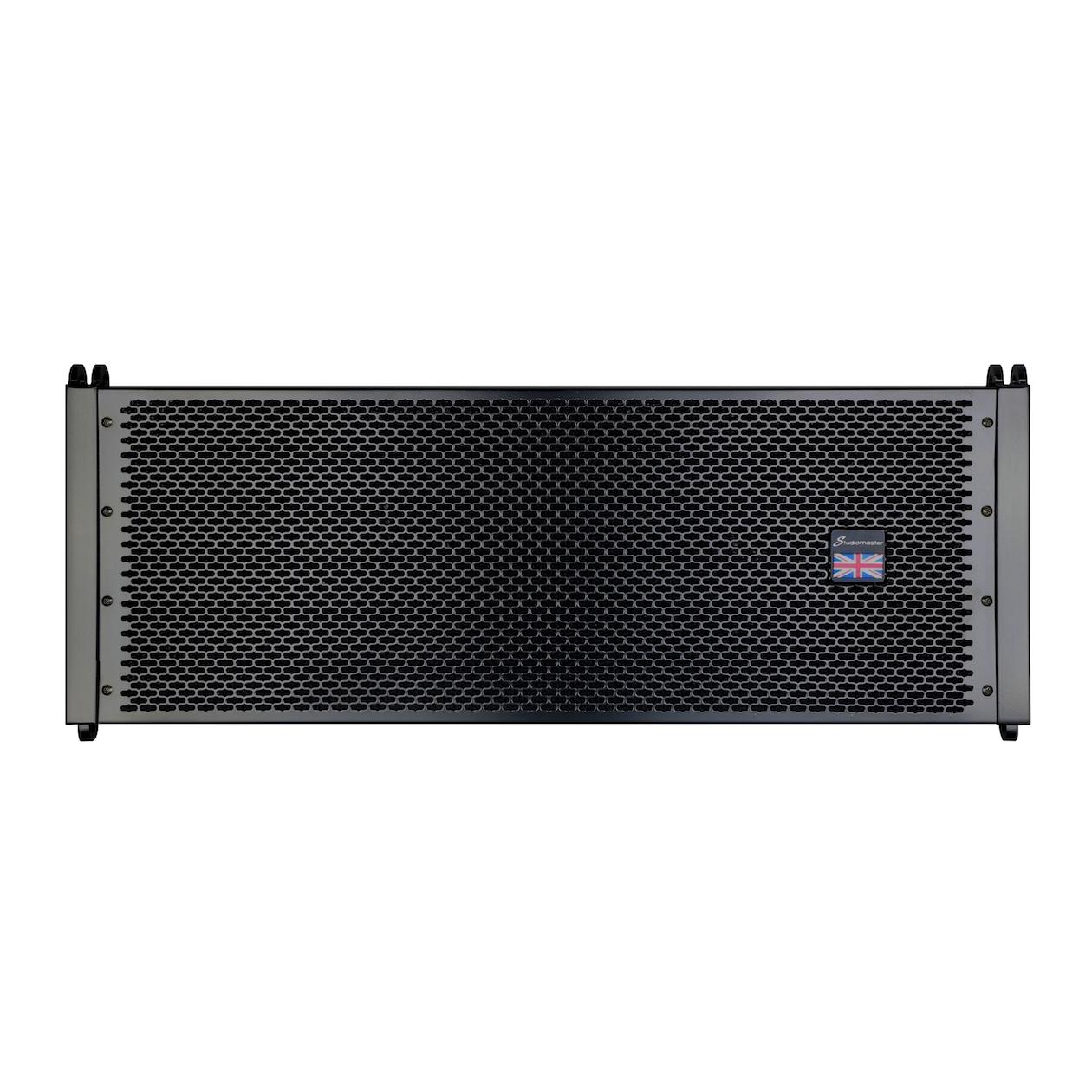 Studiomaster V10 line array front view