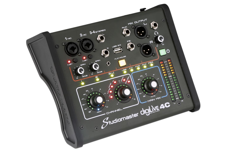 Studiomaster Digilive 4C left