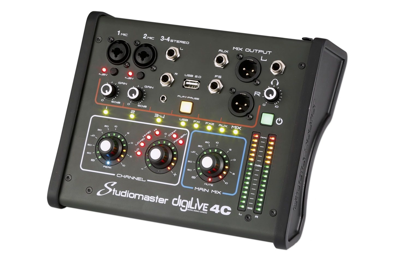 Studiomaster Digilive 4C right