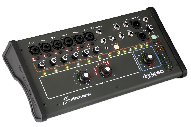 Studiomaster Digilive 8C left