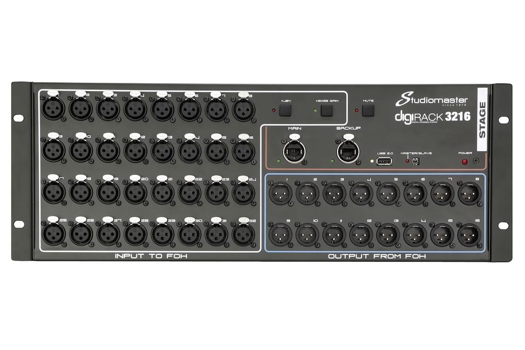 Stage backStudiomaster Digirack 3216 STAGE front