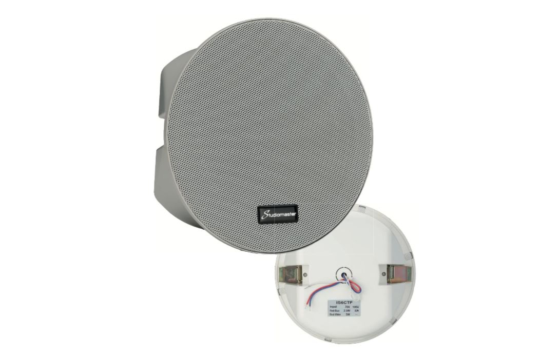 Studiomaster IS6CTF install ceiling speaker