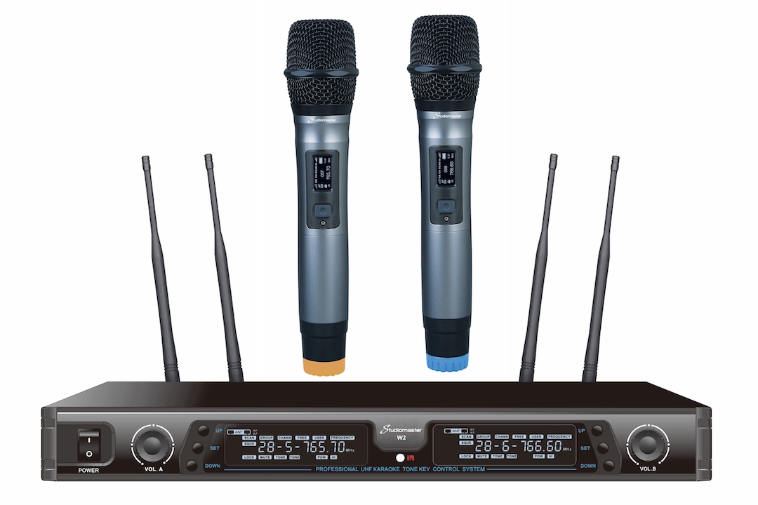 Studiomaster W2 wireless microphone set 1