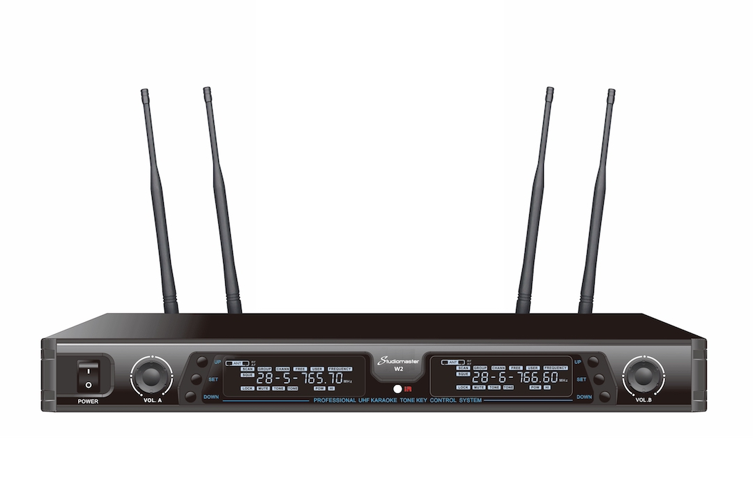 Studiomaster W2 wireless microphone set 2